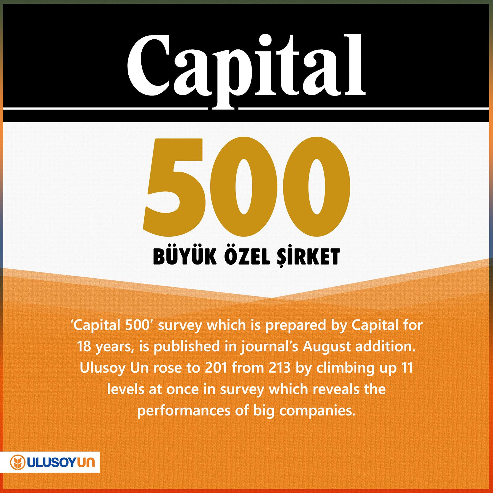 Capital500, 2016, survey, Ulusoy Un, economy